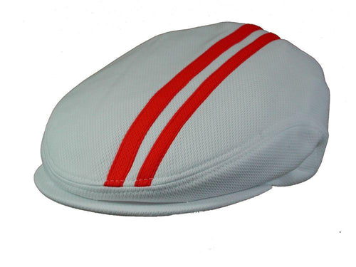 Tempo Golf Cap in White/Red