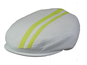Tempo Golf Cap in White/Yellow