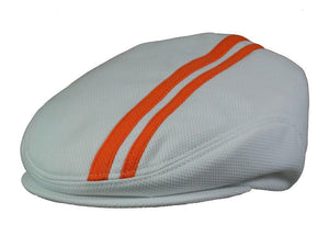 Tempo Golf Cap in White/Orange