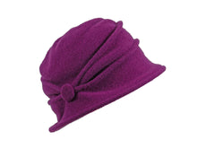 Load image into Gallery viewer, WSC01 Button Cloche in Plum
