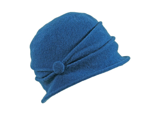 WSC01 Button Cloche in Teal