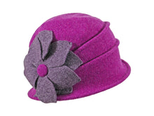 Load image into Gallery viewer, WSC26 Wool Cloche in Neon