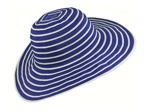 WSC37 Ribbon and Rio Sun Hat in Navy