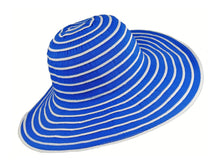 Load image into Gallery viewer, WSC37 Ribbon and Rio Sun Hat in Royal