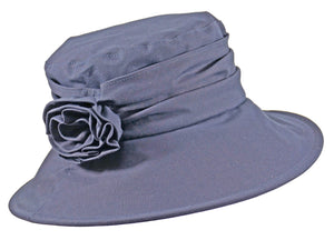 WSC41 Wax Cotton Brim in Navy