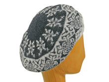 Load image into Gallery viewer, WSC42 Printed Beret in Black/Zinc