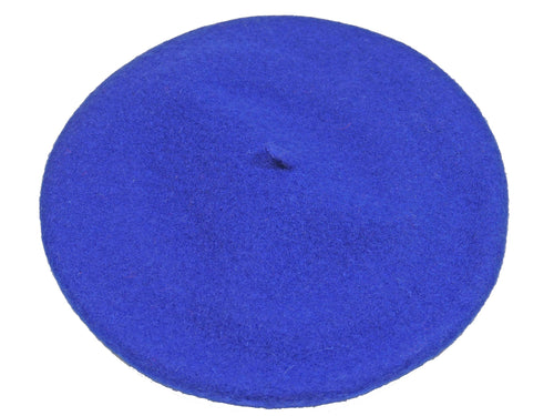 WSC500 Wool Beret in Royal