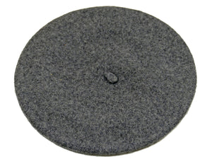 WSC500 Wool Beret in Charcoal