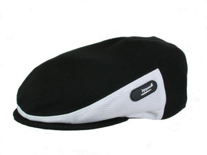 Zephyr Golf Cap in Black/White