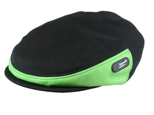 Zephyr Golf Cap in Black/Zest