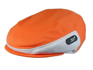 Zephyr Golf Cap in Orange/White