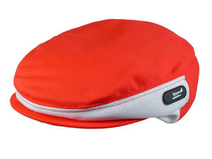 Zephyr Golf Cap in Red/White