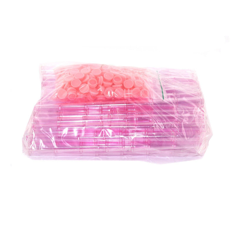 Tubes Hard Transparant Pink 112mm