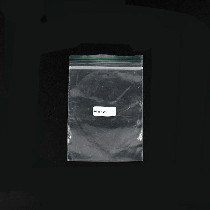 Ziplock Bag 80x120mm