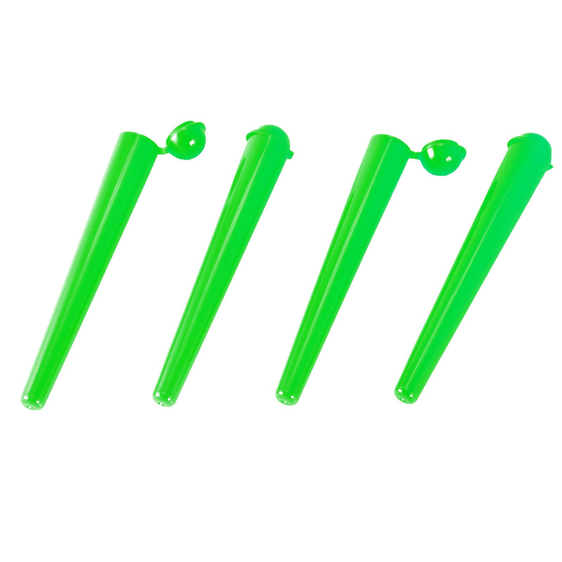 Plastic Tubes Zetla Green With Cap 112 mm