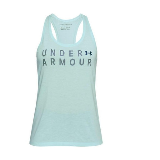 Tank Top Women Under Armour 1309893-703 Green - Shoppersbase