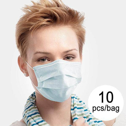 3 Layer Disposable Surgical Mask IIR JDM-001 DeerRiver Luxi (Pack of 10) - Shoppersbase