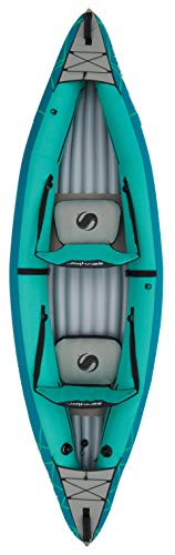 Sevylor Inflatable Kayak Waterton, 2 Man Canadian Canoe, Sea Kayak, 310 x 88 cm - Shoppersbase