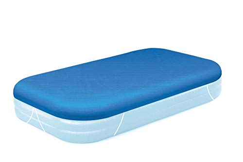 Bestway BW58108 Family Pool Cover - 129 x 82 Inches - Blue - Shoppersbase