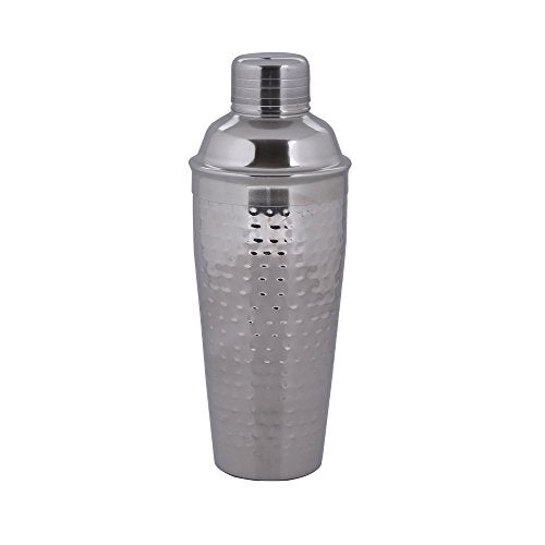 Kosma Stainless Steel Cocktail Shaker Hammered finish 750 ml | Mocktail Shaker | Drink  Shaker - Shoppersbase