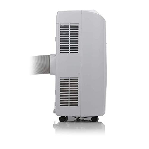 Signature S40014 Portable Air Conditioner, 7000 BTU 3-in-1, Fan, Cooler and Dehumidifier with 12 Hour Timer, Thermostatic Cut Off, Auto Shut Down, Overheat Protection, R290, Remote Control, White - Shoppersbase