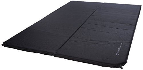 Outwell Sleepin Self-inflating Mat, Black, Double 3 cm Thick - Shoppersbase
