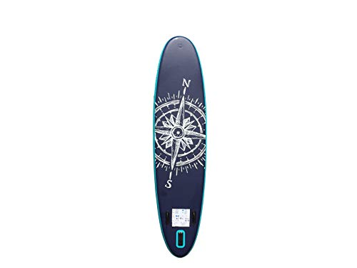 HIKS Products PURE Navy 11'2 3.4m SUP Inflatable Stand Up Paddle Board Set Inc Paddle, Pump, Backpack & Leash Suitable all Abilities Ideal Family Inflatable Paddleboard Kit - Shoppersbase