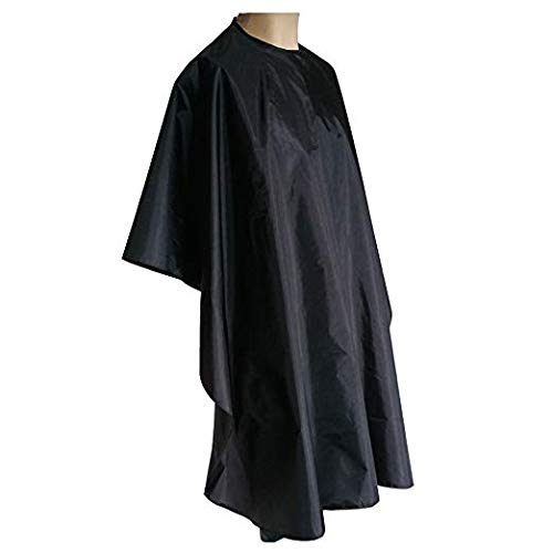 "MEANTOBE Waterproof Professional Salon Cape with Snap Closure Nylon Hair Salon Cutting Cape Hairdressing Barber Cape - 59"" x 51'' / 1.5 X 1.3m - Shoppersbase"