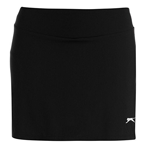Slazenger Womens Court Skort Black (M) 12 - Shoppersbase