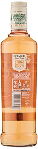 Smirnoff Infusions Orange Grapefruit and Bitters 50cl - Shoppersbase