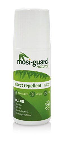 MosiGuard Natural Insect Repellent Roll On 50ml | Deet Free | Aeroplane Cabin Bag Approved | Suitable for adults and children - Shoppersbase