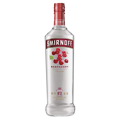 Smirnoff Raspberry Flavoured Vodka 70cl - Shoppersbase