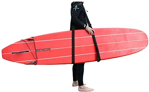 Northcore Sup and Surfboard Carry Sling Float Board, Adult Unisex Black, One Size - Shoppersbase