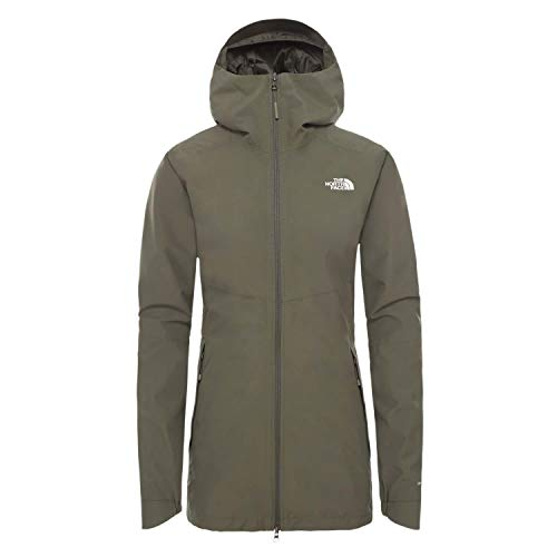 THE NORTH FACE Hikesteller Parka Shell Jacket Women new taupe green Size M 2020 winter jacket - Shoppersbase