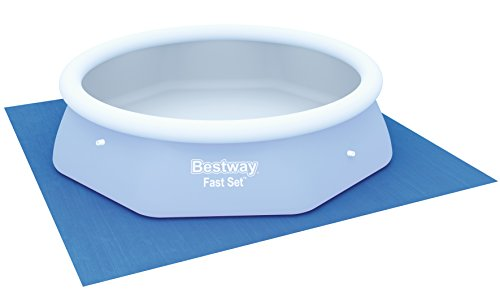 Bestway Ground Cloth Swimming Pool Floor Protector, 274 x 274 cm - Shoppersbase
