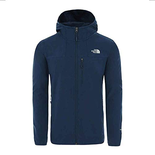 THE NORTH FACE Nimble Hoodie Jacket Men blue wing teal Size L 2020 winter jacket - Shoppersbase