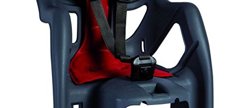 Bellelli Unisex Mr Fox Rack Fitting Child Seat, Black/Red - Shoppersbase