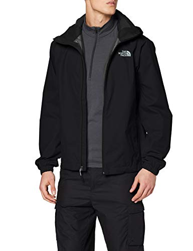 The North Face Quest Men's Outdoor Jacket, Black (Black/TNF Black), Small - Shoppersbase