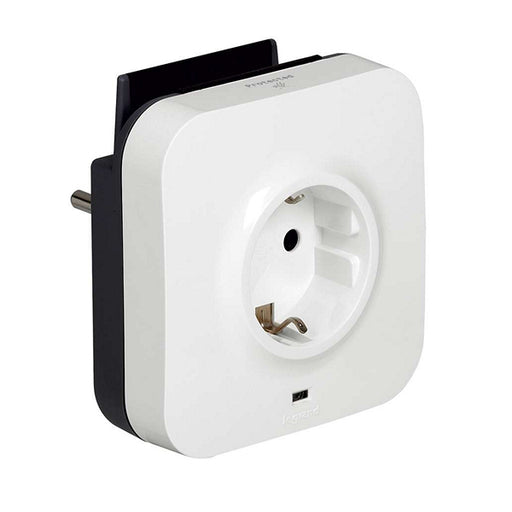 Wall Plug with 2 USB Ports Legrand 218985 USB 5V x 2 White - Shoppersbase