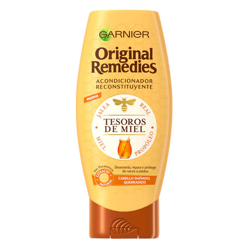 Conditioner ORIGINAL REMEDIES tesoros de miel Garnier (250 ml) - Shoppersbase