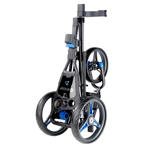 Motocaddy 2020 Z1 Push Golf Trolley - Blue - One Size - Shoppersbase