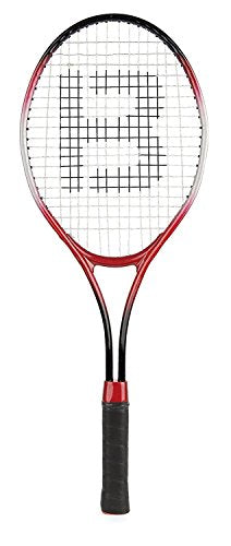 Unibos Aluminium Tennis Racket Set 2 Rackets & Ball Summer Outdoor Fun Play Set Great Gift - Shoppersbase