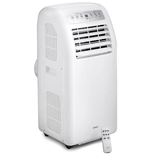 VonHaus Portable Air Conditioner - 9,000 BTU - Remote Controlled Unit - Includes 24-hour Timer, Sleep Mode, Oscillation and Variable Speed Settings - 150cm Hose - Shoppersbase