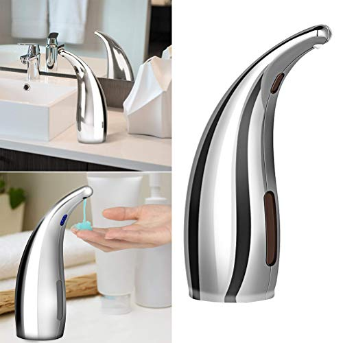 TOPBATHY Automatic Soap Dispenser Touchless Motion Sensor Soap Dispenser for Bathroom without Battery - Shoppersbase