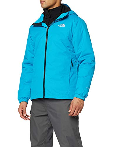 THE NORTH FACE Men's M Quest Insulated Jacket Shell, Acoustic Blue, L - Shoppersbase