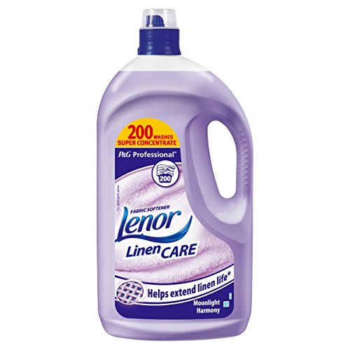 ( 4ltr Pack ) Lenor Professional Fabric Conditioner Moonlight Harmony 4L - Shoppersbase