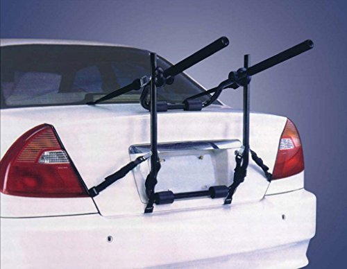 Universal Twin Cycle Carrier / Bike rack for Hatchbacks, saloons, 4x4 or estates - Shoppersbase