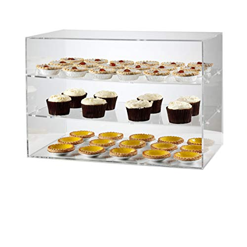 LUMINATI 450mm Wide Counter Display Unit | Cake Display Cabinet | Display Stand Case - Shoppersbase