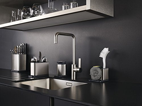 Joseph Joseph Surface Stainless-Steel Soap Pump and Bar - Silver - Shoppersbase
