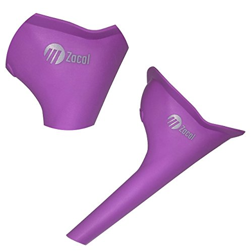 Female Ladies Urinal Wee Funnel Lets Women Pee While Outdoors, Walking or Travelling - No Need To Use Dirty Unsanitary Toilets Again With The Ladies Portable Urinal Toilet (PURPLE) - Shoppersbase
